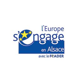 Logo Feader l'Europe s'engage en Alsace
